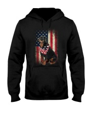 rottweiler Hooded Sweatshirt thumbnail