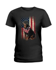 rottweiler Ladies T-Shirt thumbnail