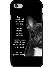 I am your friend your partner your dog french bull Phone Case thumbnail