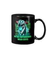 not all superheroes wear capes Mug thumbnail