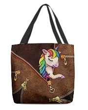 Unicorn All-over Tote front