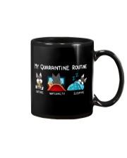 My Quarantine Routine schnauzer4 Mug thumbnail