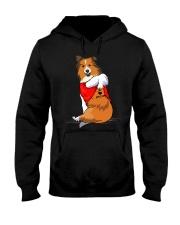 Shetland Sheepdogs Hooded Sweatshirt thumbnail
