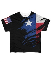 Texas full tshirt  All-over T-Shirt front