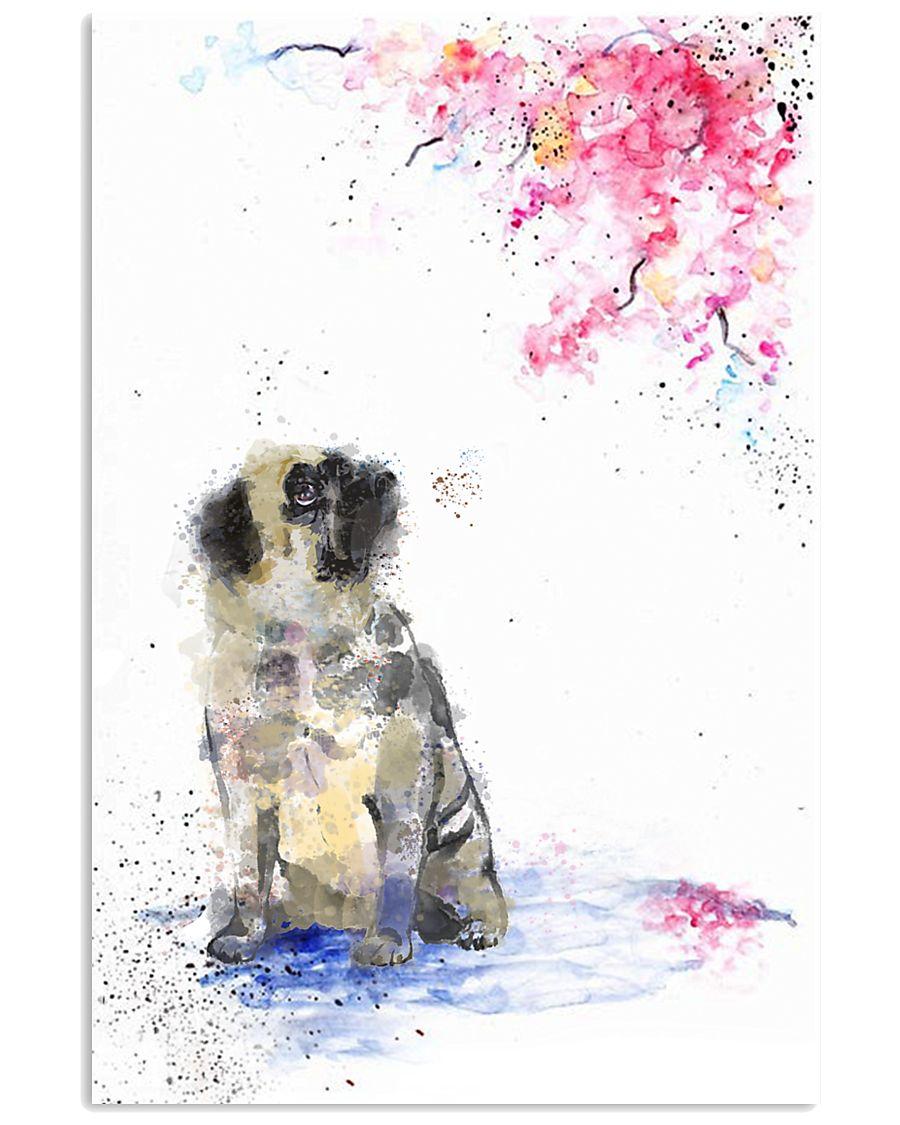 pug2 11x17 Poster