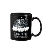 Black Is My Happy Color turtle Mug thumbnail