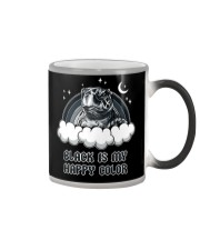 Black Is My Happy Color turtle Color Changing Mug thumbnail