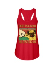 Best Pug Mom Ladies Flowy Tank thumbnail