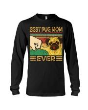 Best Pug Mom Long Sleeve Tee thumbnail