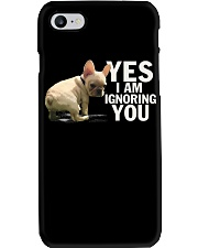 Yes I Am Ignoring You Frenchie Phone Case thumbnail