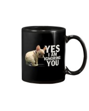 Yes I Am Ignoring You Frenchie Mug thumbnail