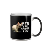 Yes I Am Ignoring You Frenchie Color Changing Mug thumbnail