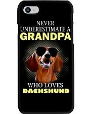 Dachshund Grandpa Phone Case thumbnail