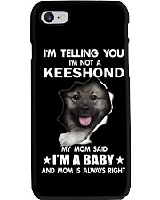 i'm telling you i'm not a keeshond  Phone Case thumbnail