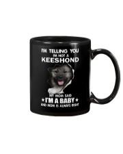 i'm telling you i'm not a keeshond  Mug thumbnail