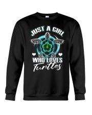 Just A Gril Who Loves Tunlles Crewneck Sweatshirt thumbnail