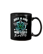 Just A Gril Who Loves Tunlles Mug thumbnail