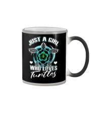 Just A Gril Who Loves Tunlles Color Changing Mug thumbnail