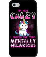 I'm not crazy Unicorn T-shirt for you Phone Case thumbnail