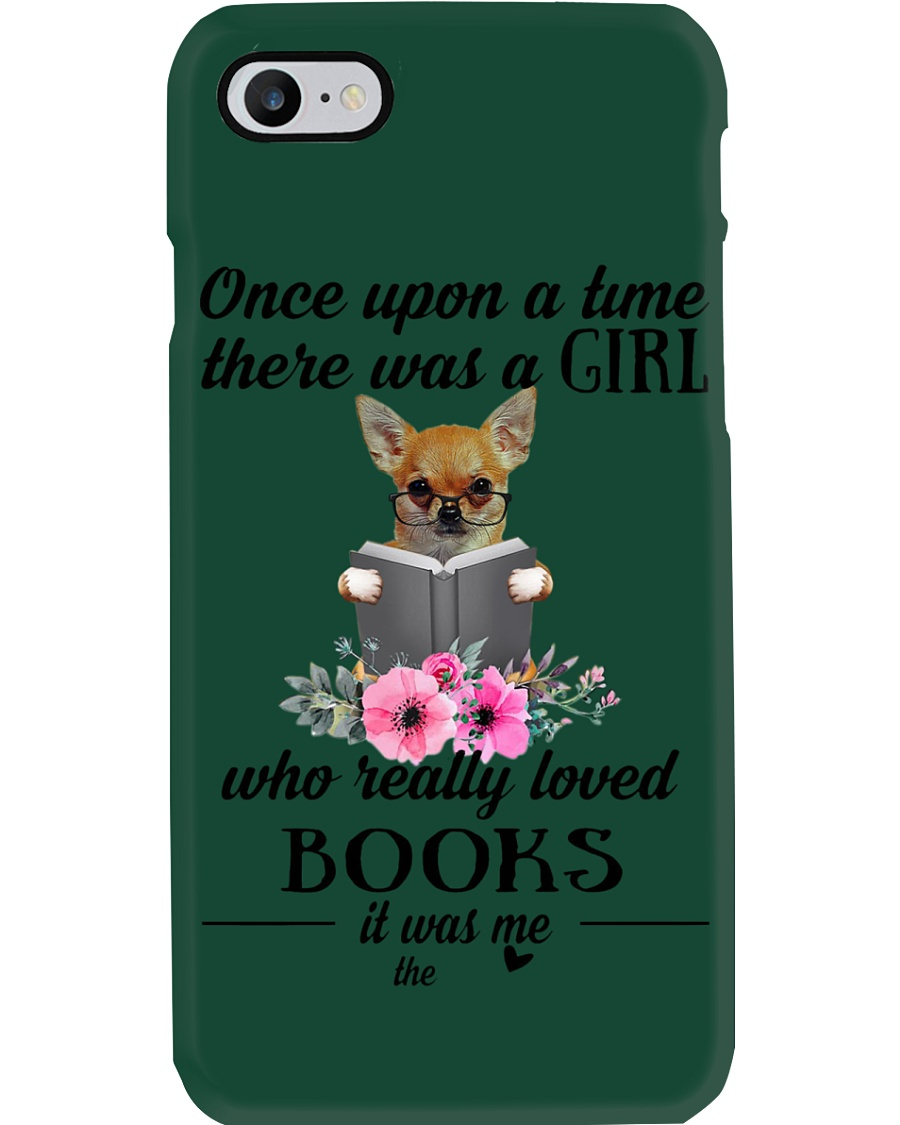 Once upon a time there was a girl chihuahua2 Phone Case