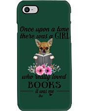 Once upon a time there was a girl chihuahua2 Phone Case i-phone-7-case