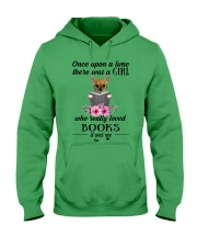 Once upon a time there was a girl chihuahua2 Hooded Sweatshirt thumbnail