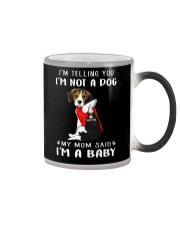 I'm Telling You I'M Not A Dog My Mom beagle Color Changing Mug thumbnail