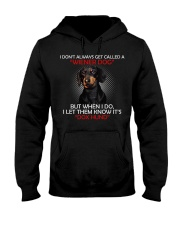I Don'T Always Get Called A Wiener Dog Dachshund Hooded Sweatshirt thumbnail