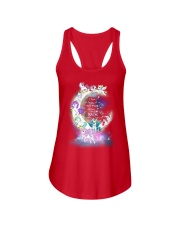 I LOVE YOU TO MOON AND BACK UNICORN BEST GIFT Ladies Flowy Tank thumbnail