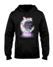 I LOVE YOU TO MOON AND BACK UNICORN BEST GIFT Hooded Sweatshirt thumbnail
