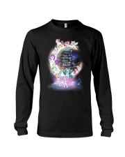 I LOVE YOU TO MOON AND BACK UNICORN BEST GIFT Long Sleeve Tee thumbnail