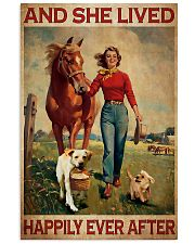 Labrador and she lived happily ever after 11x17 Poster front