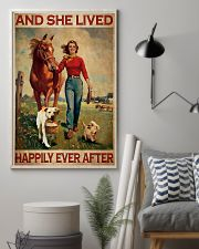 Labrador and she lived happily ever after 11x17 Poster lifestyle-poster-1