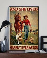 Labrador and she lived happily ever after 11x17 Poster lifestyle-poster-2