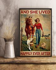 Labrador and she lived happily ever after 11x17 Poster lifestyle-poster-3
