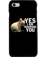 Yes I Am Ignoring Frenchie Phone Case thumbnail