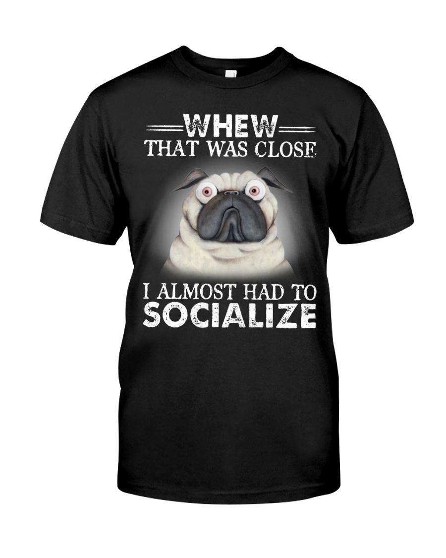 pug Classic T-Shirt