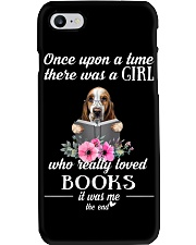 basset once upon a time there was a girl Phone Case thumbnail