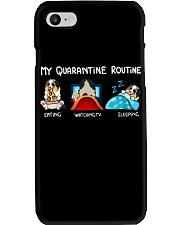 My Quarantine Routine australian shepherd4 Phone Case thumbnail