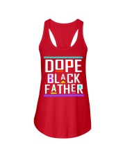 Dope Black Father Ladies Flowy Tank thumbnail