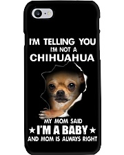 Chihuahua I'm Telling You - Funny Dog Tshirts Phone Case tile