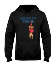 dachshund hang in there Hooded Sweatshirt thumbnail