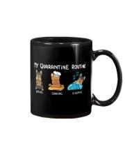 My Quarantine Routine Yorkie Mug thumbnail