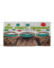 Sloth Six Feet Hooman Cute Gift For Daughter Cloth face mask front