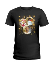 Dachshund T-shirt Christmas gift for friend Ladies T-Shirt tile