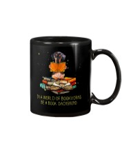 In A Worl D Of Bookworms Be A Book Dachshund  Mug thumbnail
