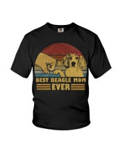 Best Beagle Mom Ever Youth T-Shirt thumbnail