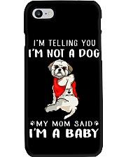 I'm Telling You I'M Not A Dog My Mom Shih Tzu Phone Case thumbnail
