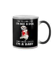 I'm Telling You I'M Not A Dog My Mom Shih Tzu Color Changing Mug thumbnail