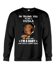 I'm telling you i'm not a vizsla Crewneck Sweatshirt thumbnail